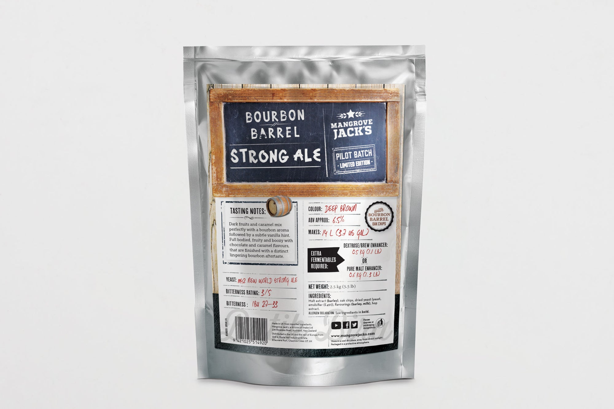 MJ Bourbon Barrel Strong Ale Bira Kiti