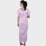 Pink Solid Nighty