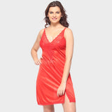 Vixenwrap Hot Red Solid Babydoll