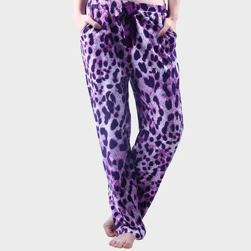 Lilac Purple Printed Pyjama