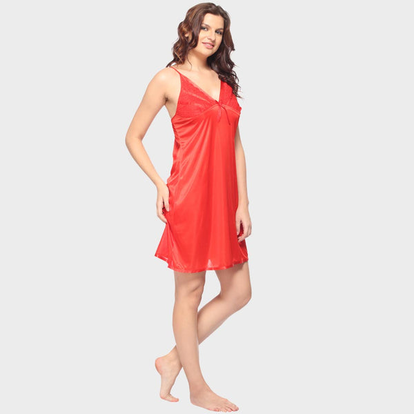 Vixenwrap Candy Red Solid Babydoll