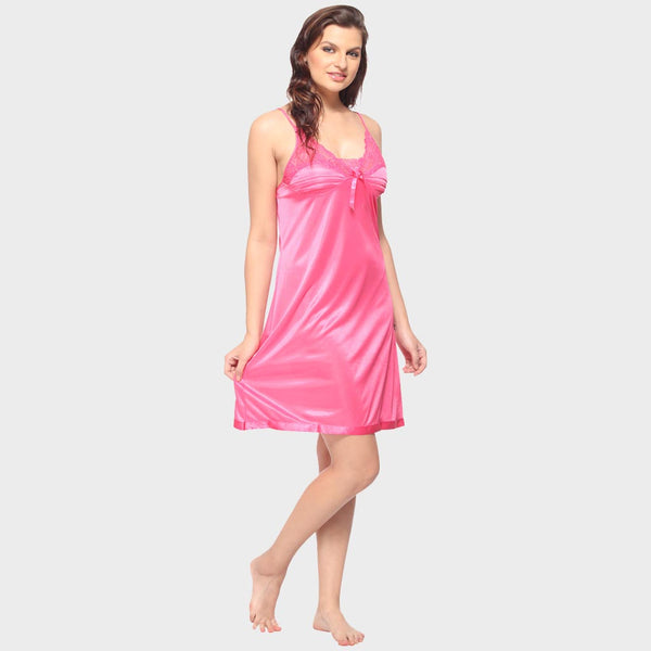 Vixenwrap Electric Pink Solid Babydoll