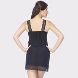Vixenwrap Midnight Black Solid Babydoll