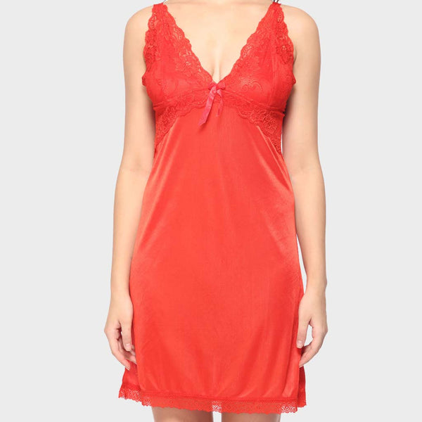 Vixenwrap Rose Red Solid Babydoll