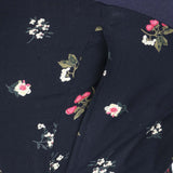 Midnight Blue Printed Maternity Pyjama