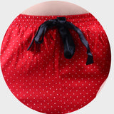 Rose Red Polka Print Pyjama