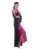 Black & Pink Printed Nightgown , Nightgowns - vixenwrap, Vixenwrap - 6