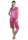 Pink Solid Nightgown , Nightgowns - vixenwrap, Vixenwrap - 9