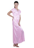 Pink Solid Nightgown , Nightgowns - vixenwrap, Vixenwrap - 2