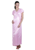 Pink Solid Nightgown , Nightgowns - vixenwrap, Vixenwrap - 1