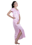 Pink Solid Nightgown , Nightgowns - vixenwrap, Vixenwrap - 6