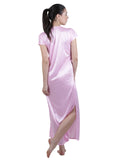 Pink Solid Nightgown , Nightgowns - vixenwrap, Vixenwrap - 8