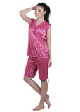 Pink Solid Nightgown , Nightgowns - vixenwrap, Vixenwrap - 11