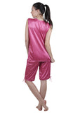 Pink Solid Nightgown , Nightgowns - vixenwrap, Vixenwrap - 12