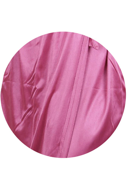 Pink Solid Nightgown , Nightgowns - vixenwrap, Vixenwrap - 13