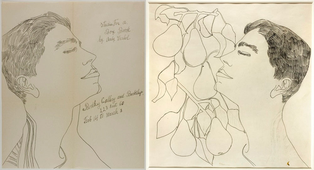 Dejavu Boutique & Art Gallery, Bodley Gallery, Andy Warhol, Studies for a Boy Book