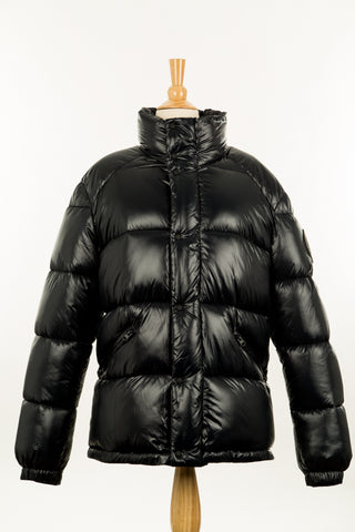 Crawley Leather Jacket With Fur Hood