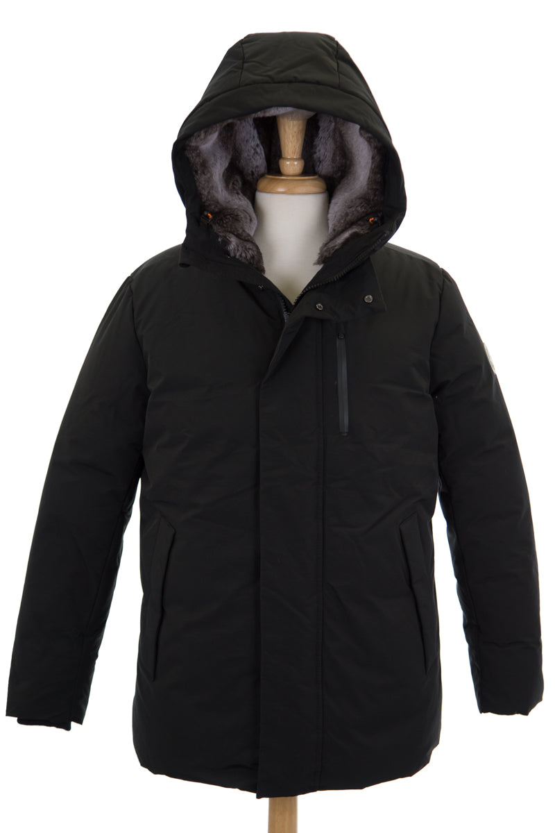 Save the Duck COPY9 Winter Hooded Parka with Faux Fur Lining