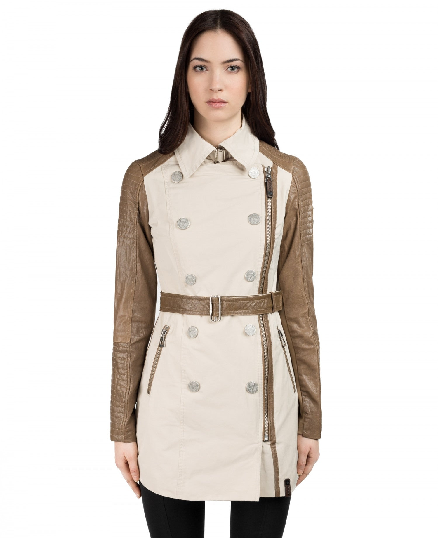Marjorie Asymmetrical Trench Coat