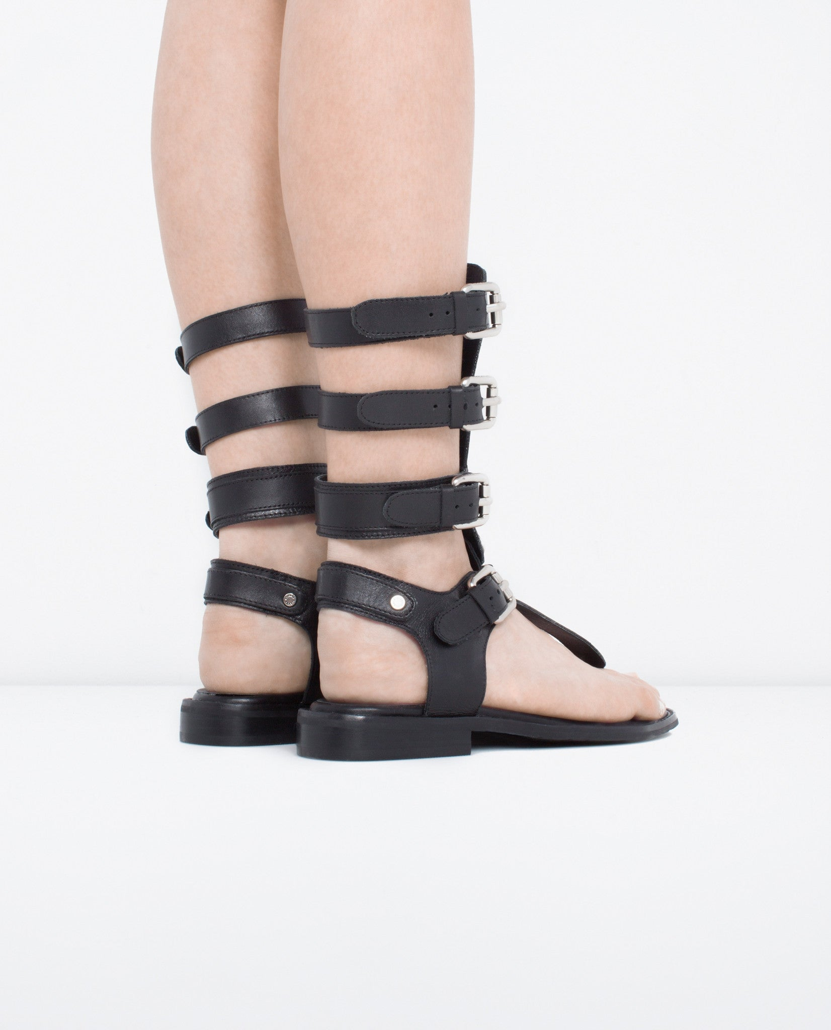 Renews Leather Gladiator Sandal