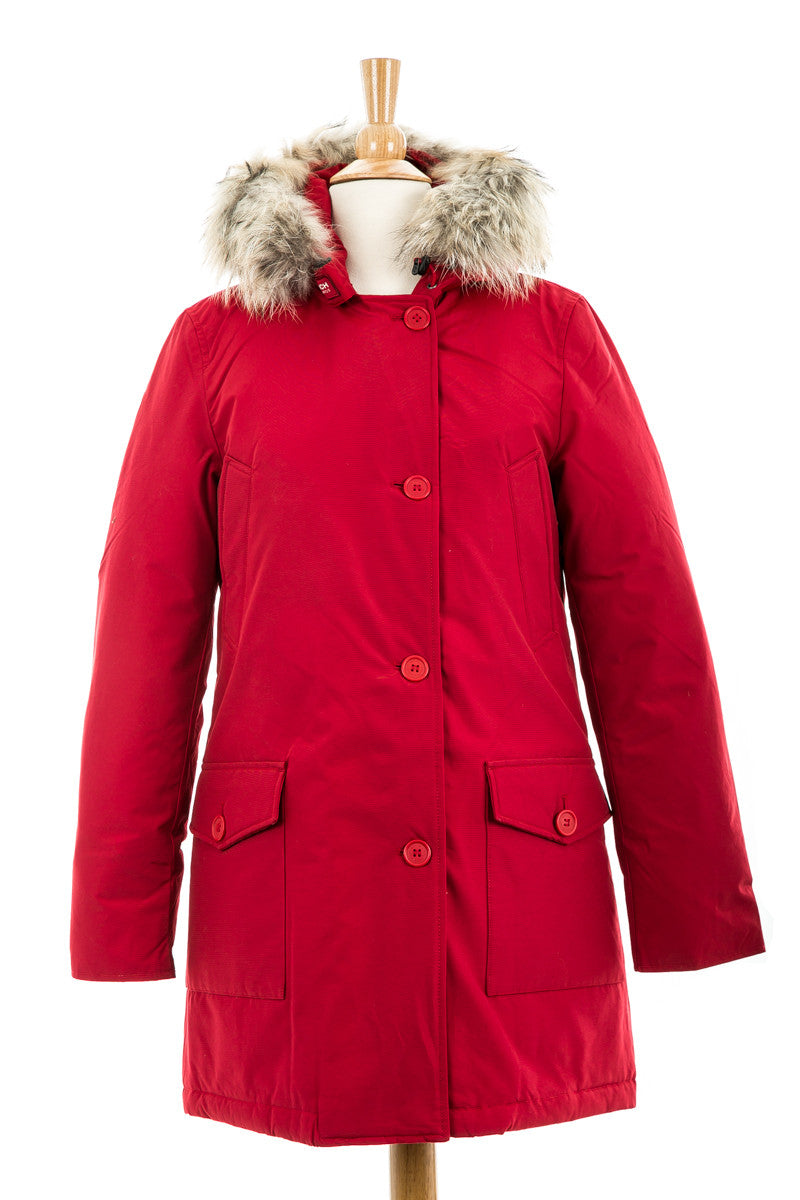 Arctic Parka DF with Fur Trim