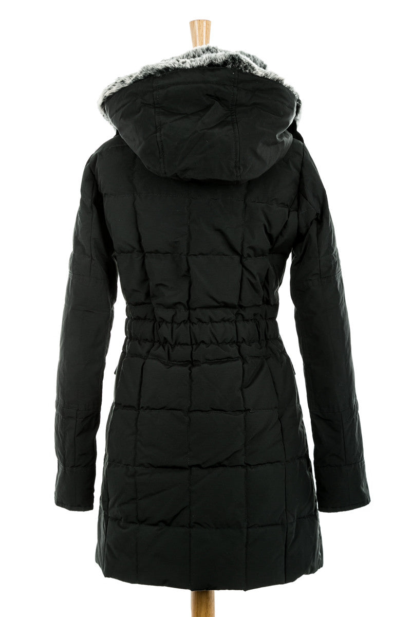 Blizzard Parka with Fur Trim