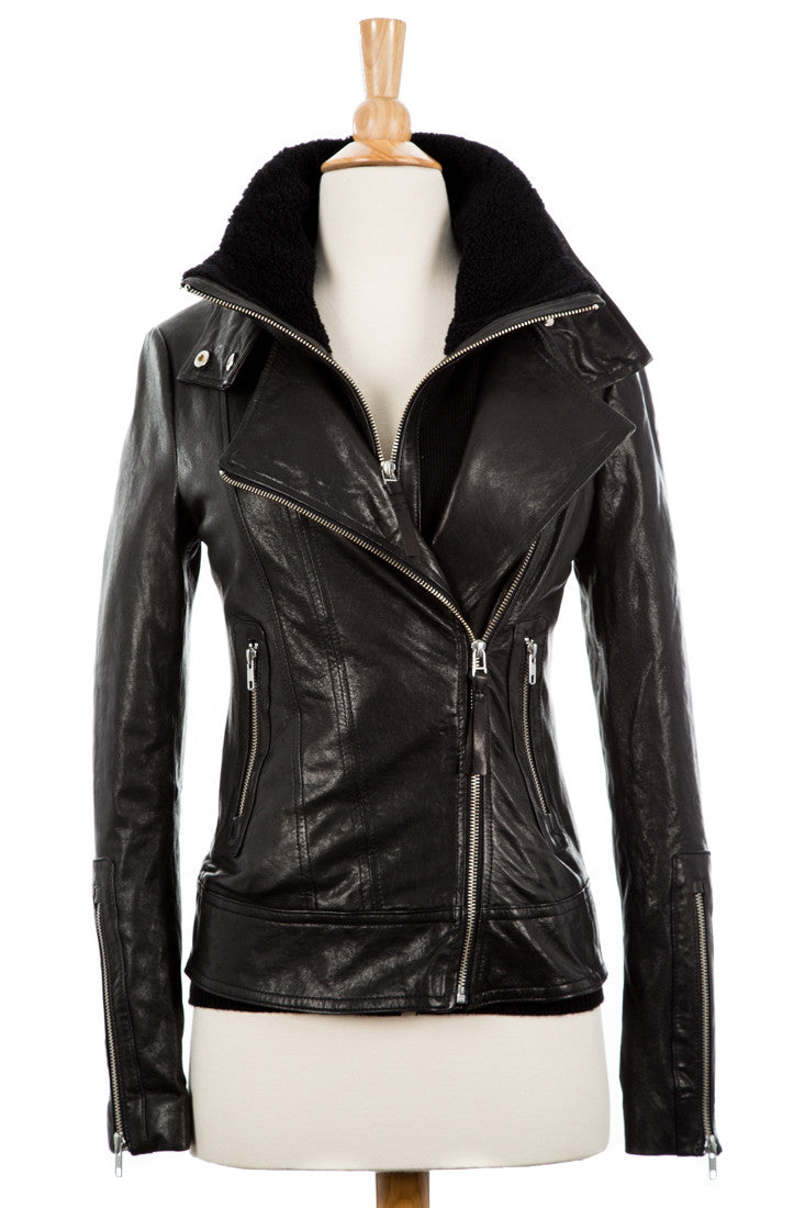 Kailyn Leather Jacket - Dejavu NYC