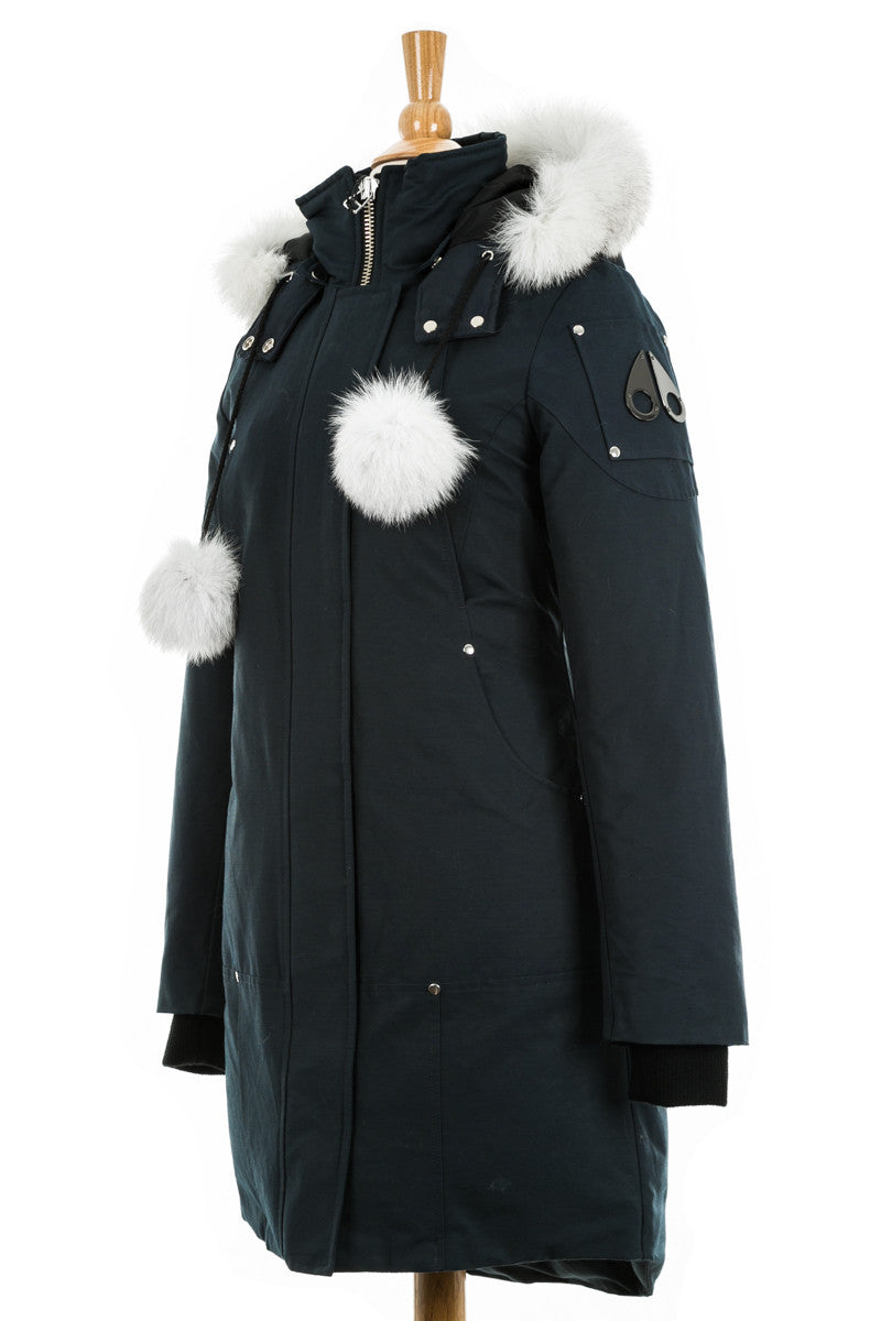 Stirling Down Parka With Fur Trim