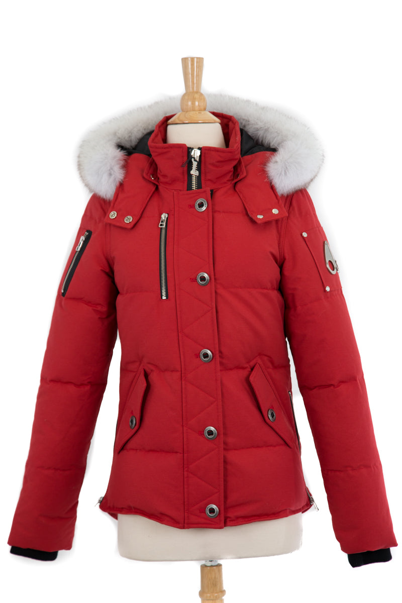 3Q Puffer Jacket With Fur Trim