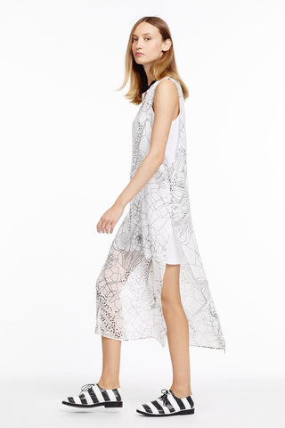 Drake Chiffon Dress - Dejavu NYC