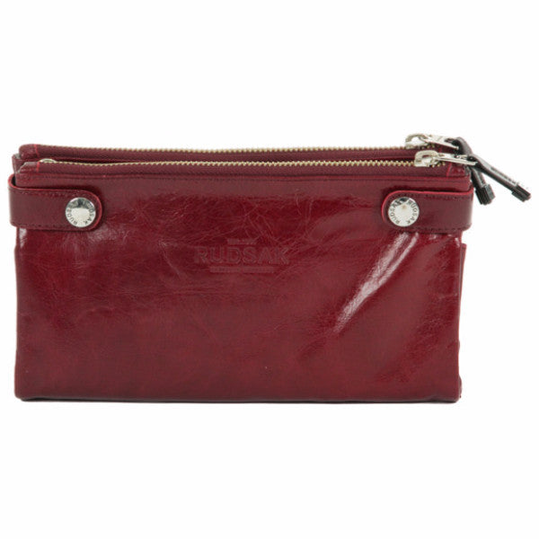 Hermine Leather Clutch