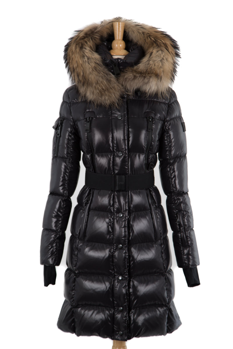Infinity Puffer Coat with Fur