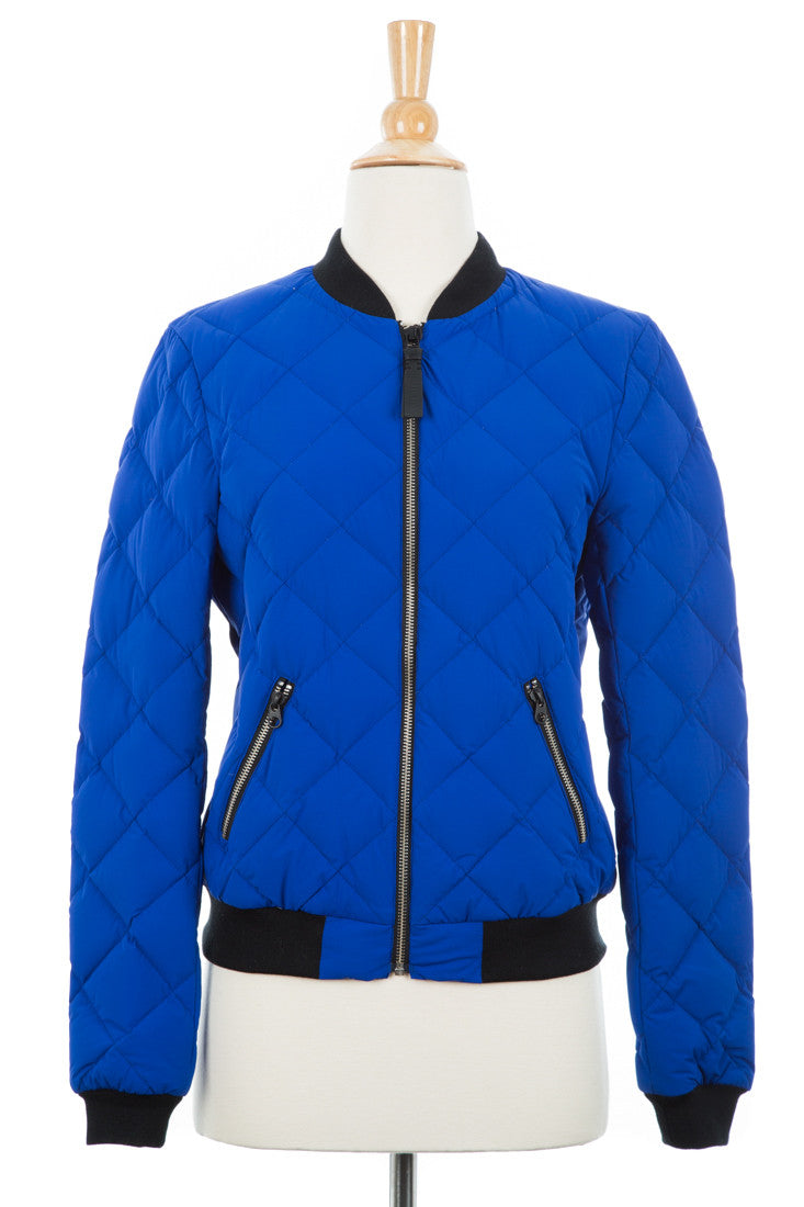 Cathy Lightweight Down Bomber Jacket