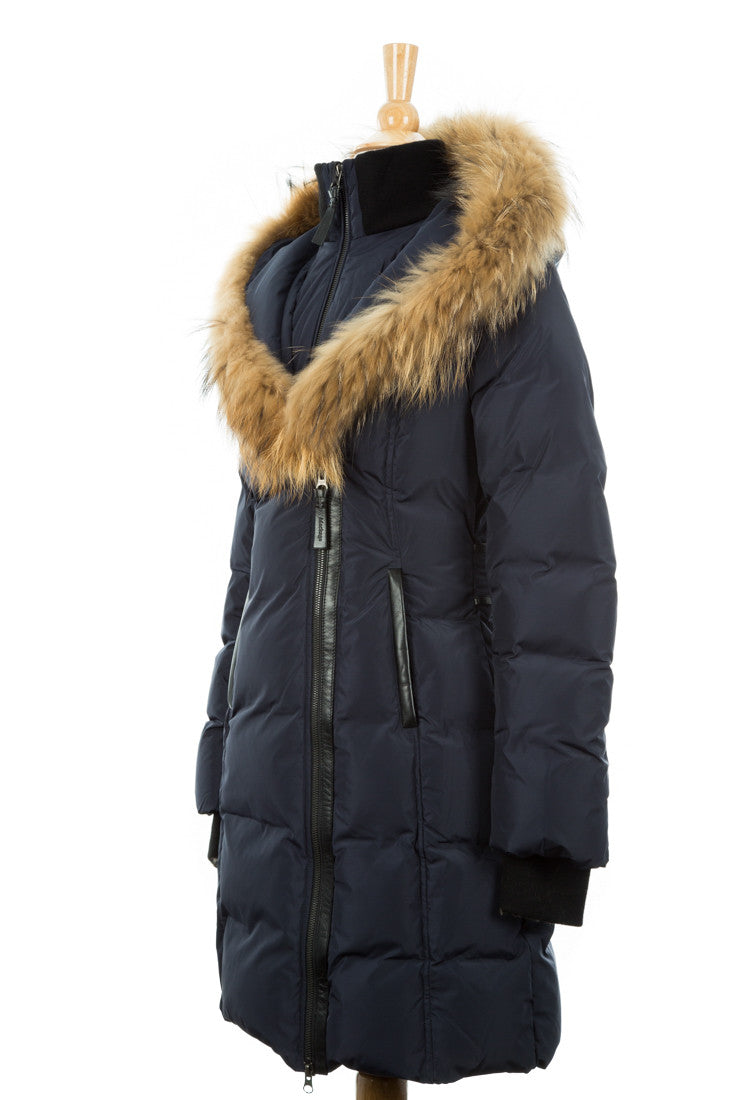 Kay Fur Trimmed Down Coat