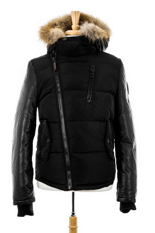Multi Luxe Limelight Jacket with Fur