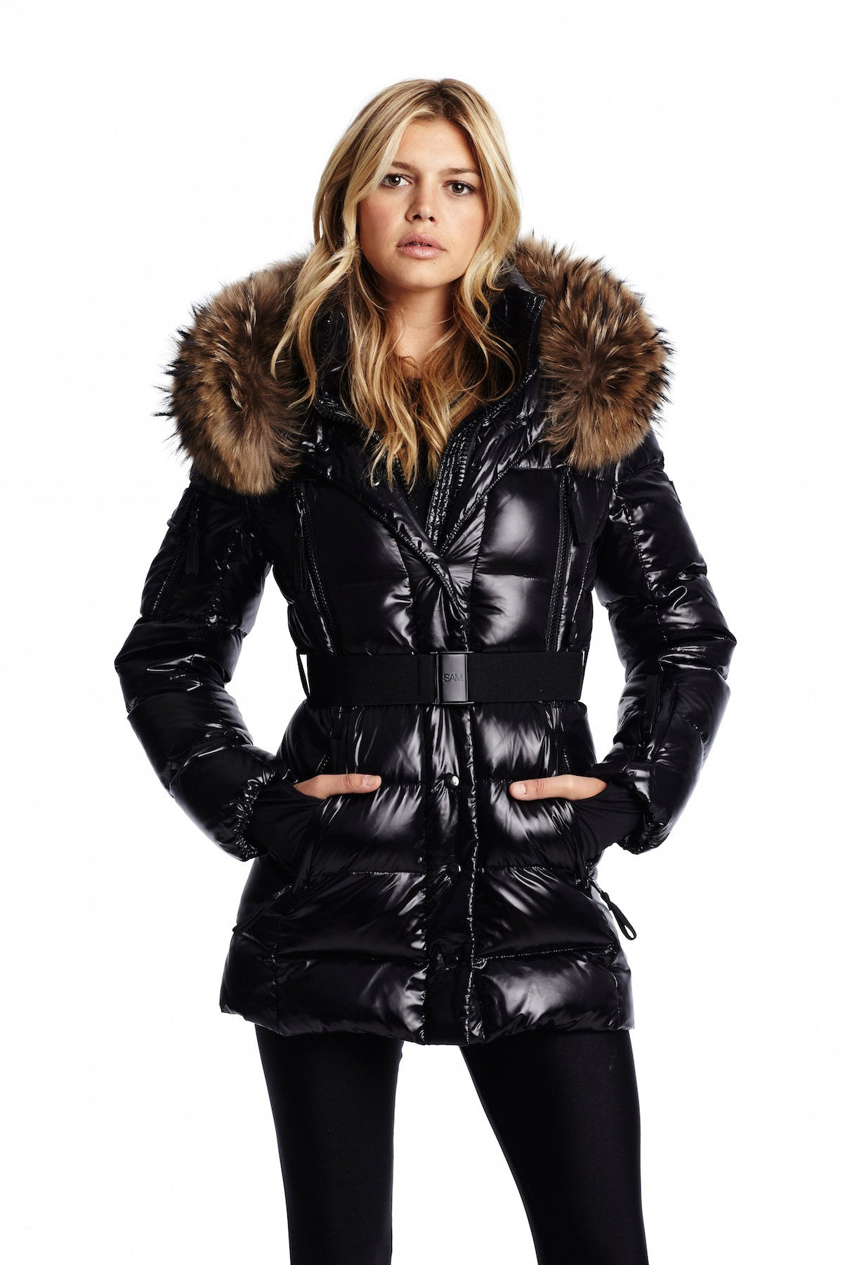 Millennium Puffer Coat With Fur Sam Coat Jacket