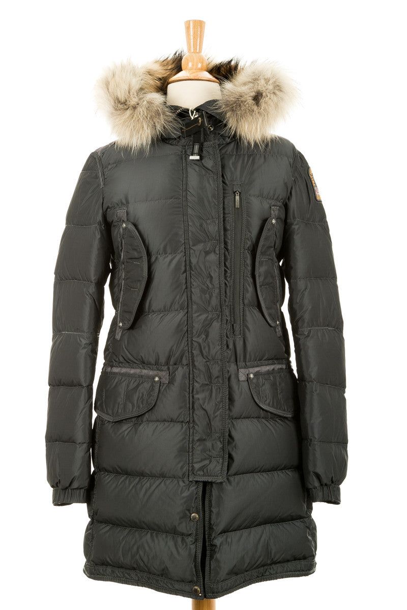 Harraseeket Down Parka With Fur Trim