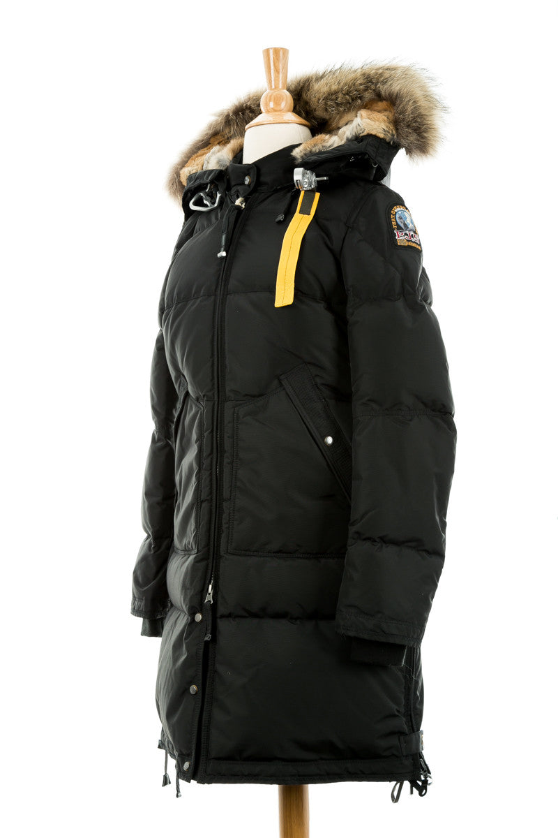 parajumpers long bear lapin fur parka