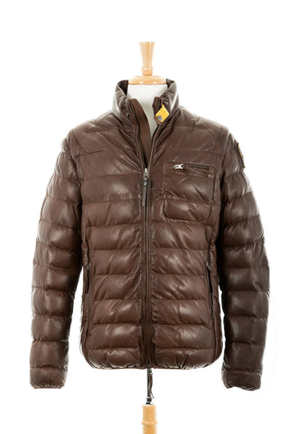 Ernie Quilted Leather Jacket. Parajumpers