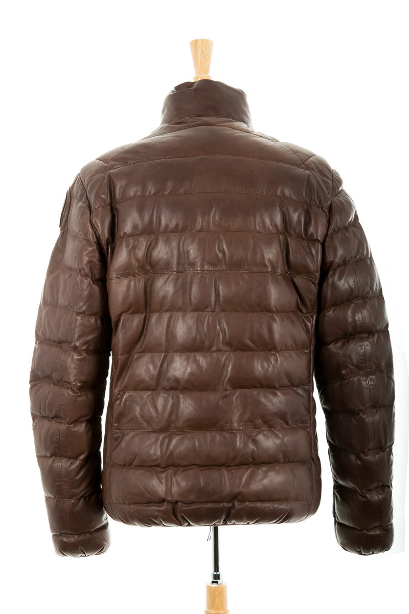 Ernie Quilted Leather Jacket
