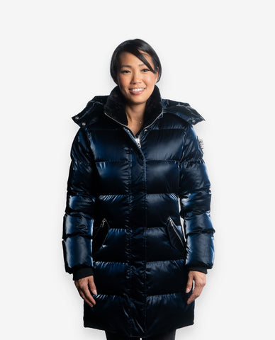 Woodpecker Women's Penguin Long Coat - Dejavu NYC