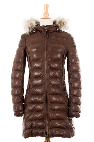 Grace Down Parka With Fur Trim