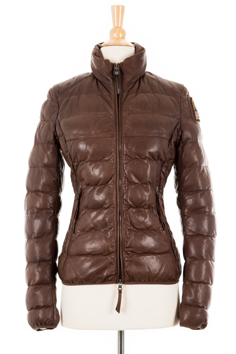 Jodie Leather Bomber Jacket