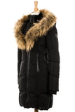 Cadro Down Parka Jacket With Fur Trim - Dejavu NYC