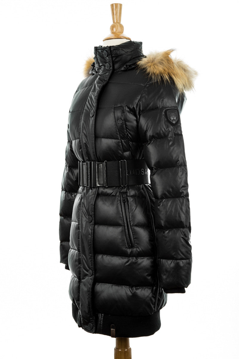 Diana Down Coat With Fur Trim