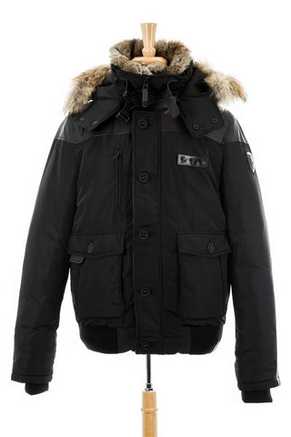 Stefano Parka Jacket With Fur Trim