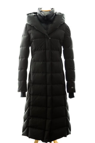 Talyse Maxi-Length Brushed Down Coat - Dejavu NYC