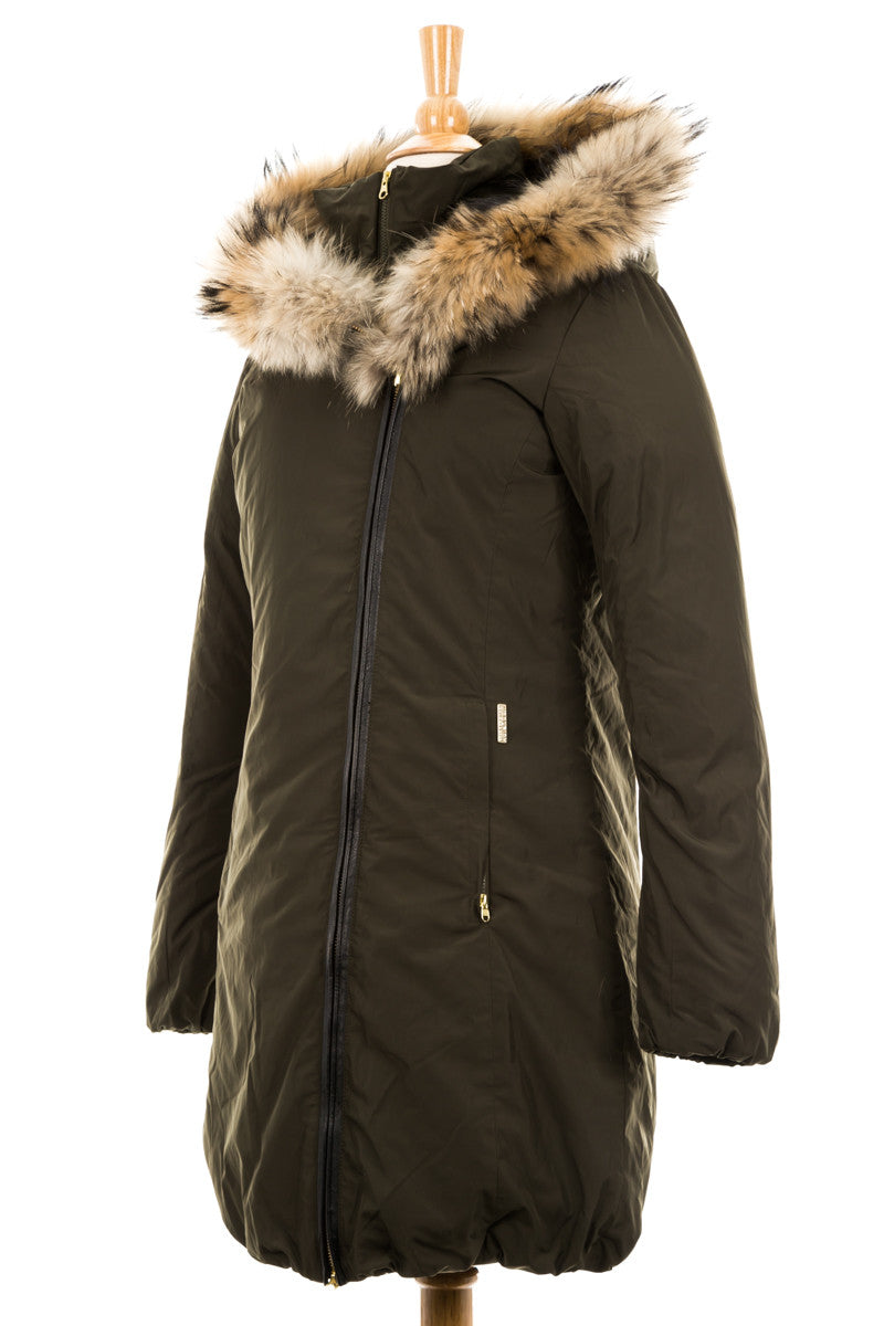 Eugene Parka with Fur Trim - Dejavu NYC