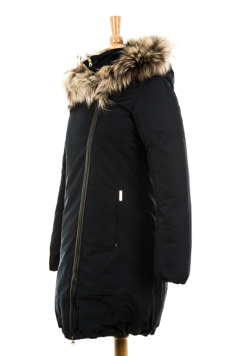 Eugene Parka with Fur Trim