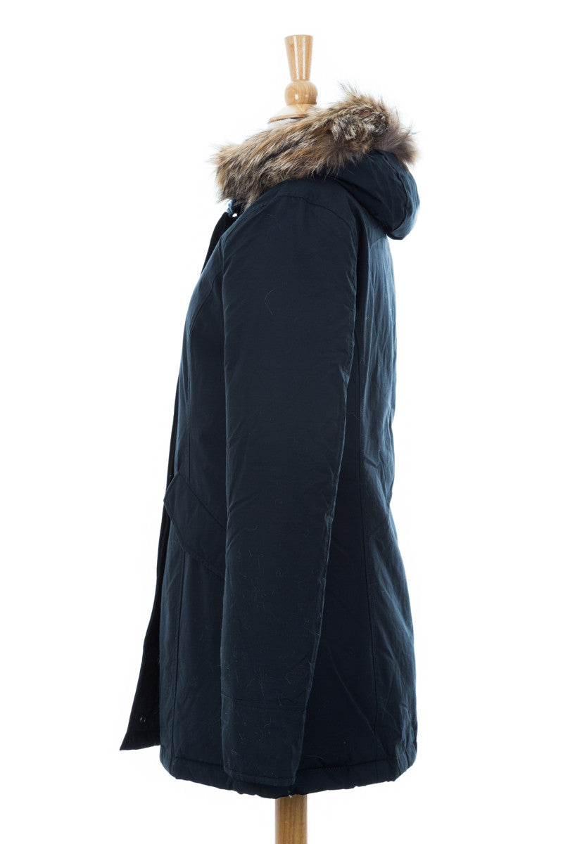 Arctic Parka with Fur Trim